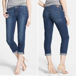 PAIGE Jimmy Jimmy Crop denim jeans distressed 30